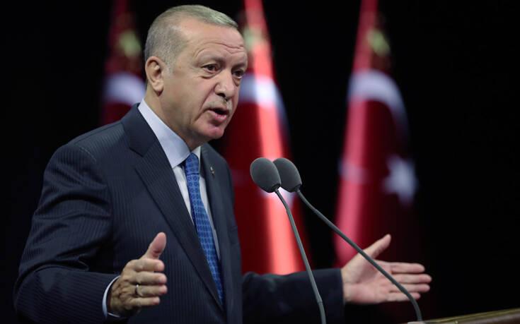 Τα γυρίζει πάλι προς το μέρος του ο Ερντογάν: Επιδιώκουμε μια επωφελή φόρμουλα για όλους στην Ανατολική Μεσόγειο
