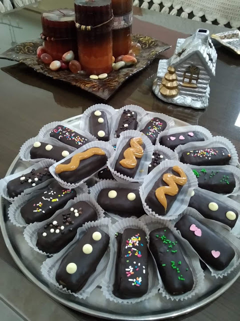 Σοκολατάκια Twix με μπισκότα και καραμελωμένο ζαχαρούχο !!!Εύκολα και γρήγορα !!!