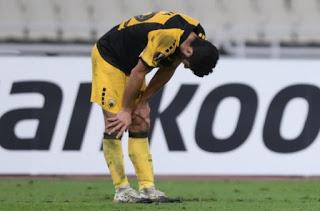 Κατρακύλα του ελληνικού ποδοσφαίρου στην Ευρώπη