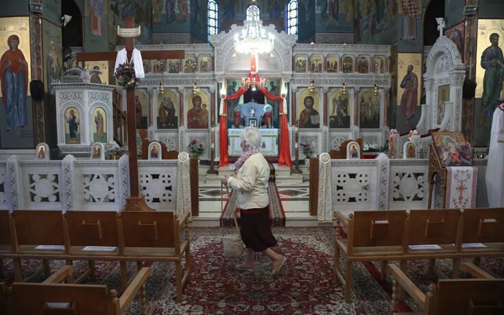 Πέτσας: Οι εισηγήσεις της Επιτροπής για το άνοιγμα των εκκλησιών