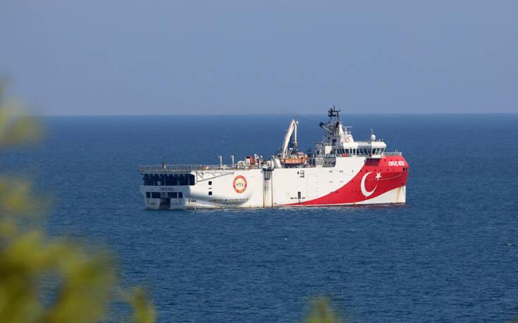 Βγαίνει ξανά το Oruc Reis στην Ανατολική Μεσόγειο – Η περιοχή που δεσμεύουν με Navtex οι Τούρκοι έως τις 21 Ιουνίου