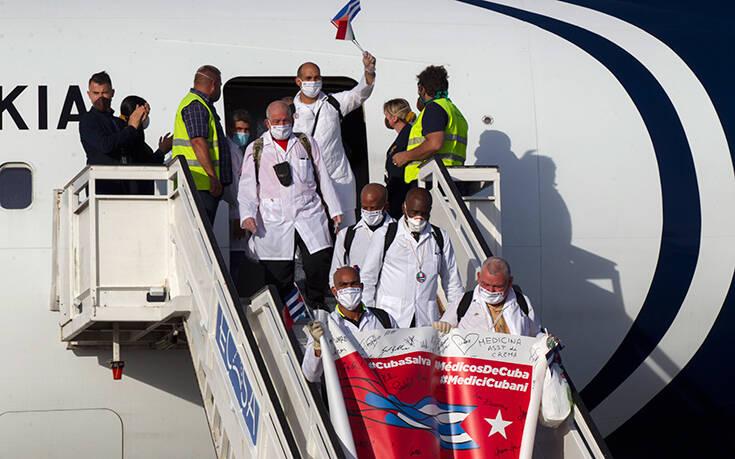 Η Ομάδα Φιλία του Ευρωκοινοβουλίου στηρίζει το αίτημα για Νόμπελ Ειρήνης στους Κουβανούς γιατρούς