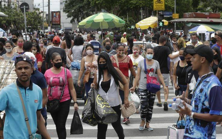 Δύο πρώτα κρούσματα της βρετανικής μετάλλαξης του κορονοϊού εντοπίστηκαν στη Βραζιλία