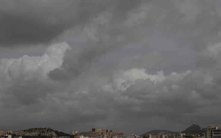 Άστατος ο καιρός σήμερα με νεφώσεις και τοπικές βροχές