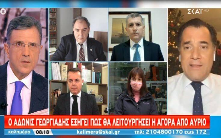 Γεωργιάδης: Τέλος στο click away, αν γεμίσει πάλι η Ερμού – Ο πελάτης δε θα μπορεί να μπει στο κατάστημα