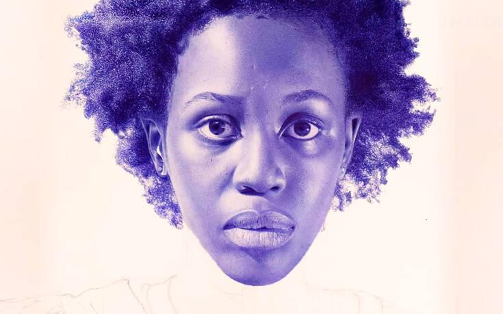 Εντυπωσιακά υπερρεαλιστικά πορτρέτα φτιαγμένα με ένα απλό μπλε στυλό