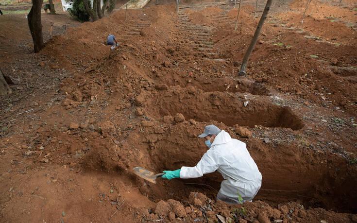 Θερίζει κόσμο ο κορονοϊός στη Βραζιλία: Πλησιάζουν τους 200.000 οι νεκροί, πάνω από 7 εκατομμύρια κρούσματα