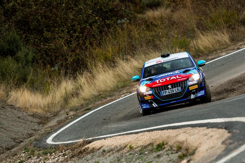 Δυνατό ξεκίνημα για το Peugeot 208 Rally 4!