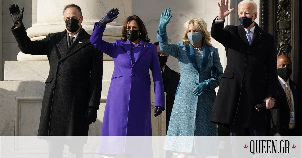 Τι φόρεσαν οι Kamala Harris και Jill Biden στην ορκωμοσία του νέου Προέδρου των ΗΠΑ;