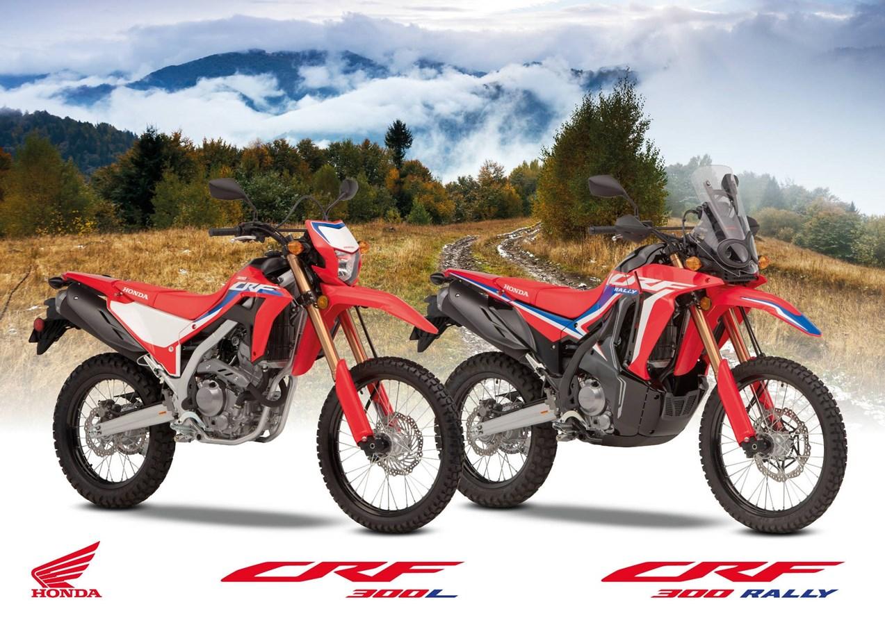 HONDA: CRF300L και CRF300 RALLY