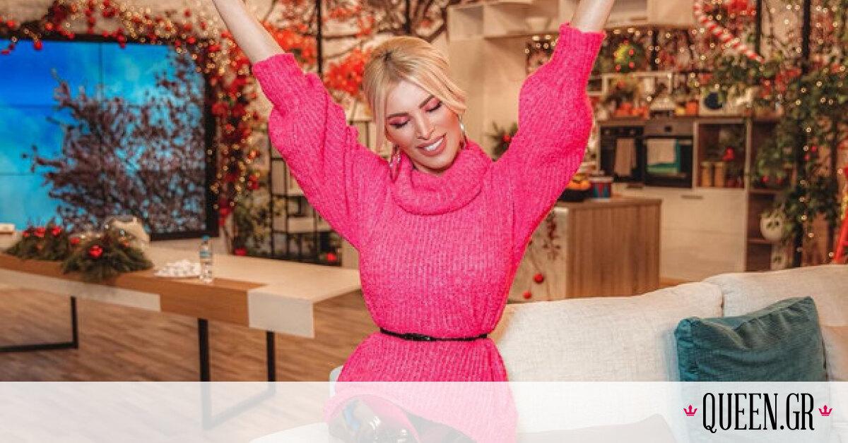 Η Κατερίνα Καινούργιου φόρεσε το vinyl κολάν με τον πιο εντυπωσιακό τρόπο