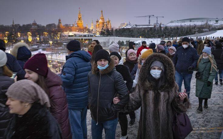 Πρώτο κρούσμα της βρετανικής παραλλαγής του κορονοϊού και στη Ρωσία