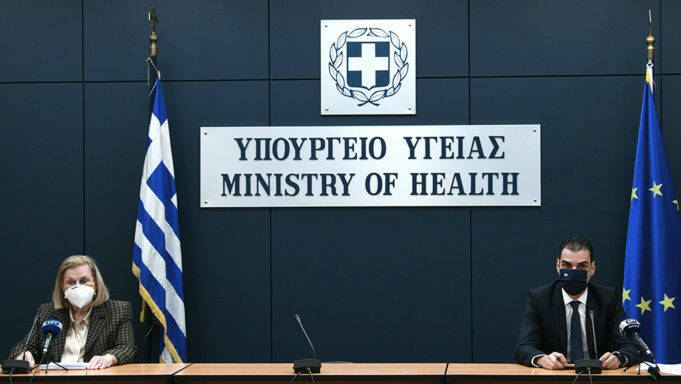 Η ενημέρωση για τον κορονοϊό και το εμβόλιο από το υπουργείο Υγείας