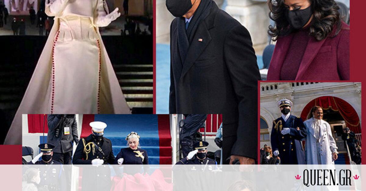 Ορκωμοσία Biden: Τι φόρεσαν όλες οι λαμπερές κυρίες που παρευρέθηκαν στην τελετή;