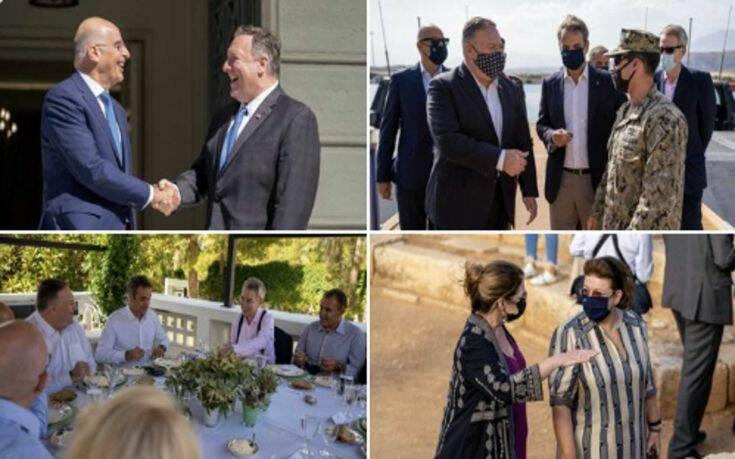 Ο Πομπέο αποχαιρετά με ανάρτησή του για την επίσκεψή του στην Ελλάδα