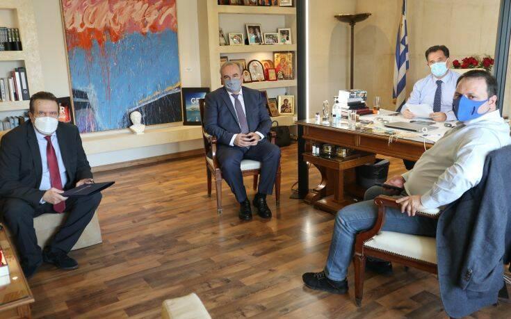Γεωργιάδης: Θα κάνουμε ό,τι είναι ανθρωπίνως δυνατόν για λειτουργήσει έστω κι εν μέρει η αγορά