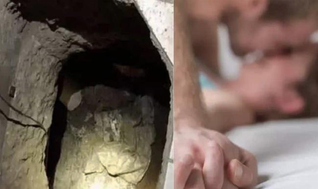Παντρεμένος άντρας είχε σκάψει τούνελ για να πηγαίνει κρυφά στο σπίτι της παντρεμένης γκόμενας του