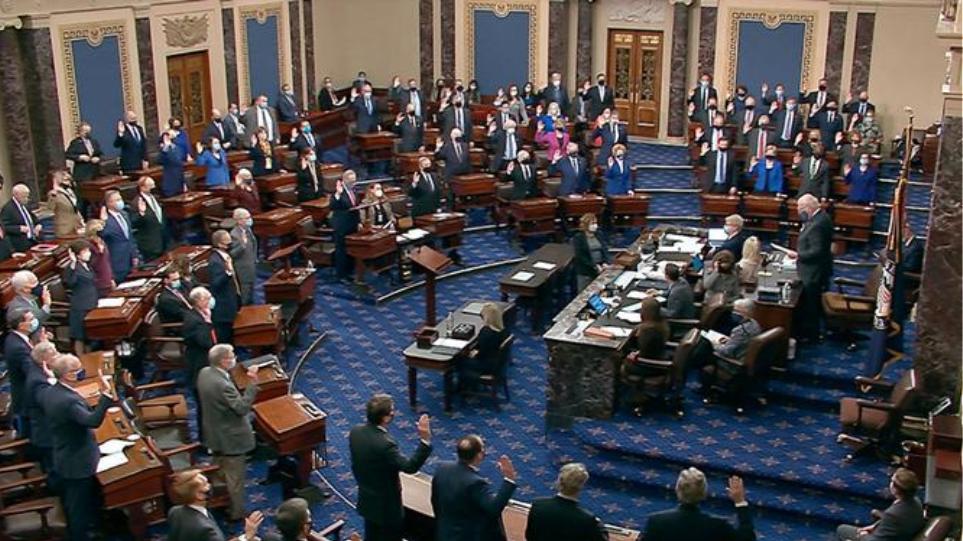 ΗΠΑ: Kατά της δίκης του Τραμπ 45 Ρεπουμπλικάνοι γερουσιαστές
