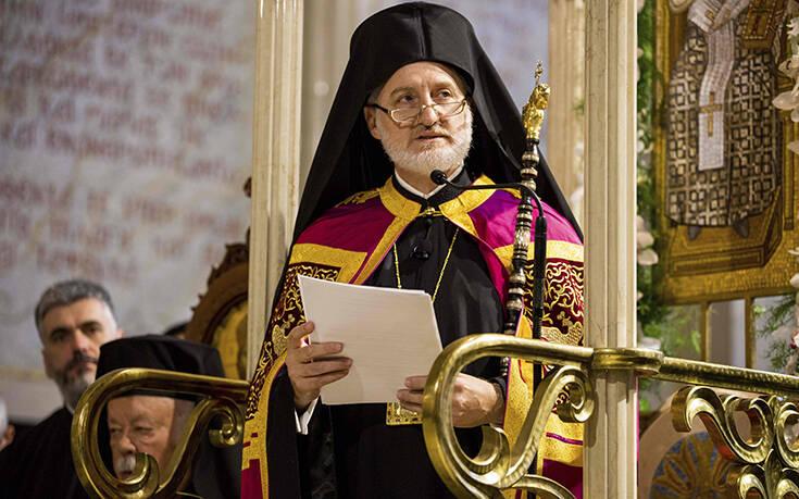 Αρχιεπίσκοπος Αμερικής για την εισβολή στο Καπιτώλιο: Ας προσευχηθούμε για τις ενωμένες ΗΠΑ