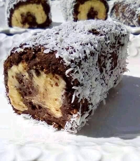 Ρολάκια γλυκό με γέμιση βουτυρόκρεμας !!!
