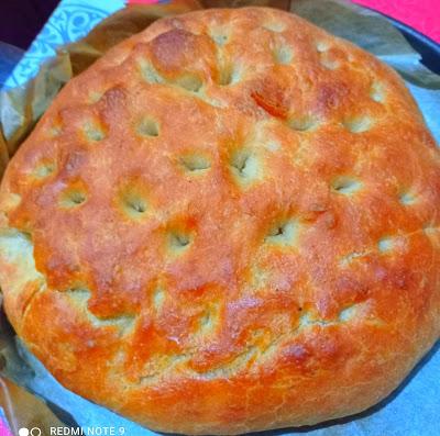 Φοκάτσια Ιταλικό ψωμάκι !!!