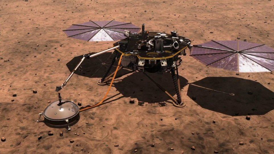 NASA: «Νεκρό» το τρυπάνι του InSight – Σταματούν οι γεωτρήσεις στον Άρη