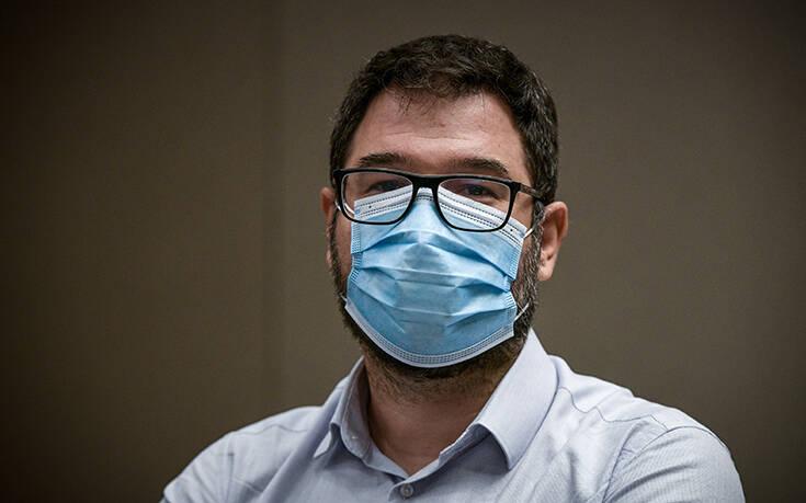 Ηλιόπουλος: Η κυβέρνηση στέλνει γιατρούς στη Μακεδονία ενώ αυξάνονται οι νοσηλείες με κορονοϊό στην Αττική