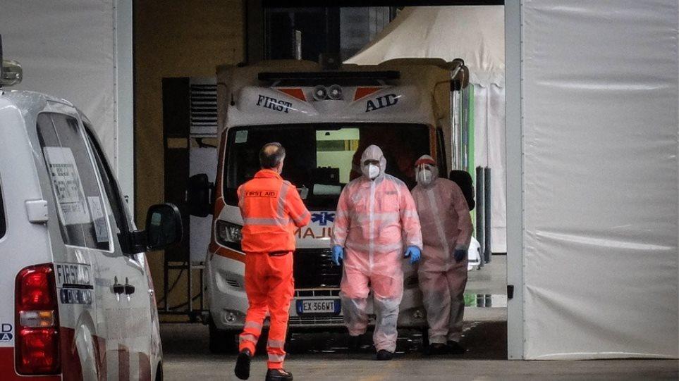 Ιταλία: 13.331 νέα κρούσματα και 488 θάνατοι σε ένα 24ωρο
