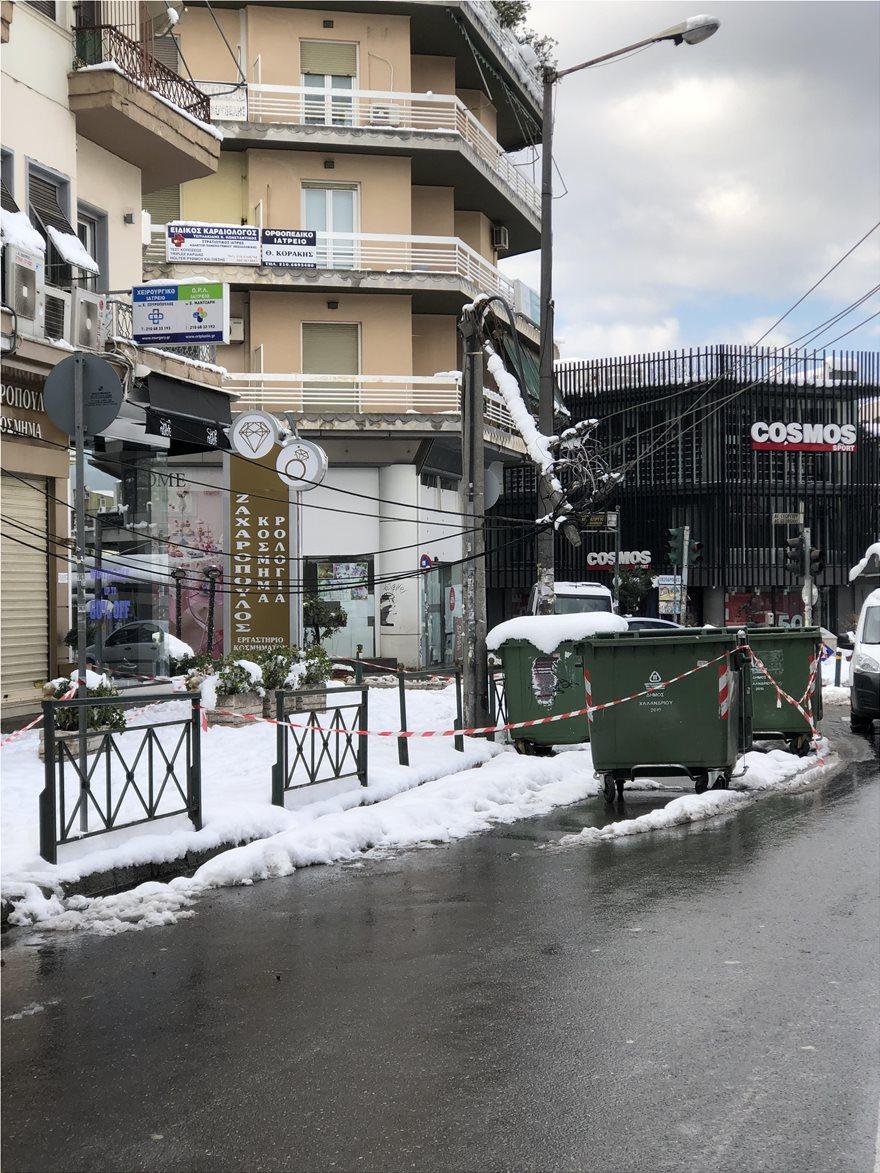Κακοκαιρία «Μήδεια»: Για τρίτη μέρα χωρίς ρεύμα νοικοκυριά στην Αττική – Δείτε τις περιοχές που αντιμετωπίζουν προβλήματα