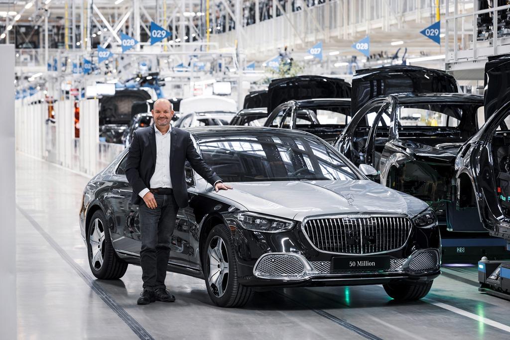 Γιορτή στη Mercedes για τα 50 εκατομμύρια επιβατικά οχήματα
