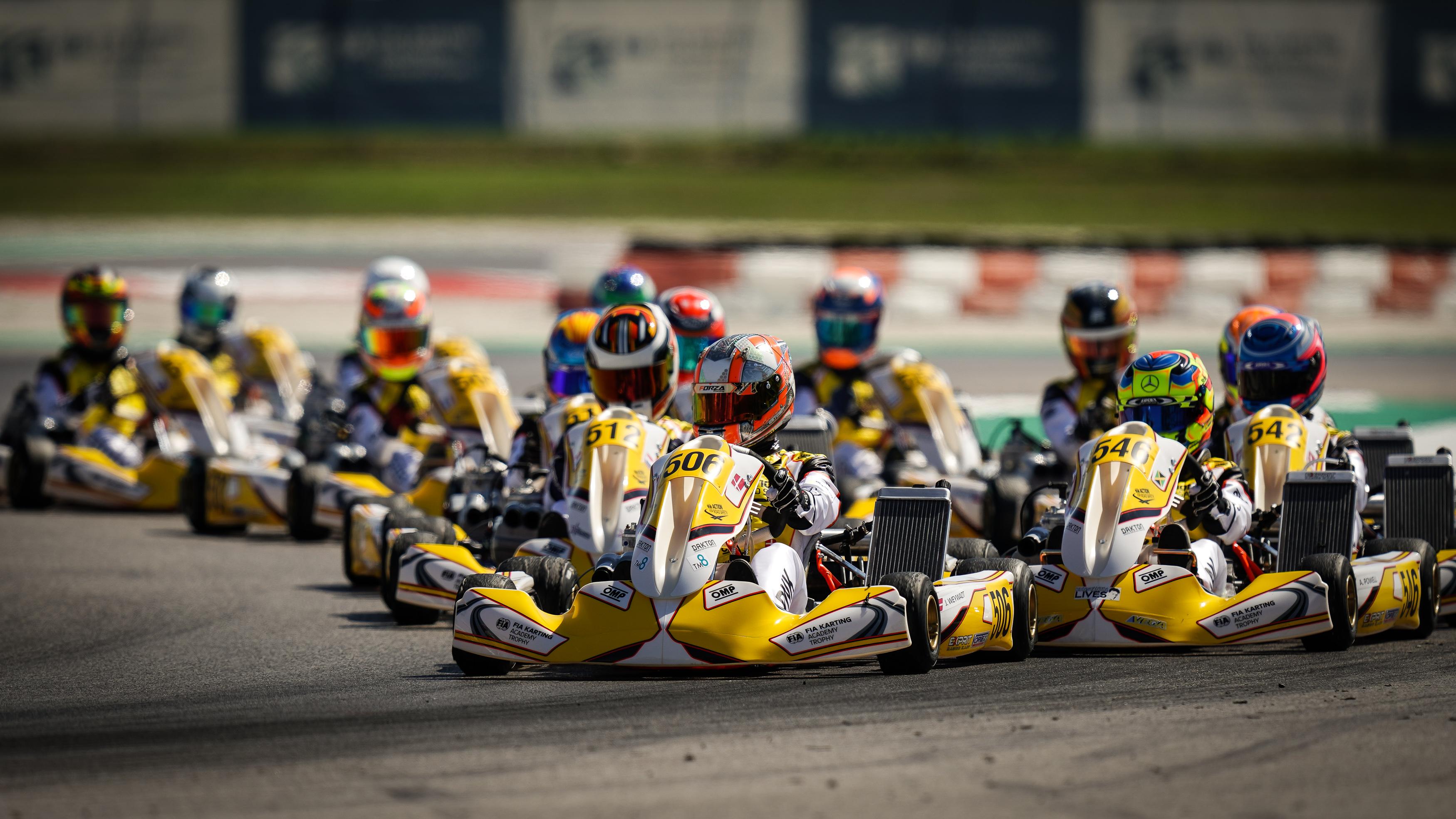 Τα προγράμματα των αγώνων Karting του 2021