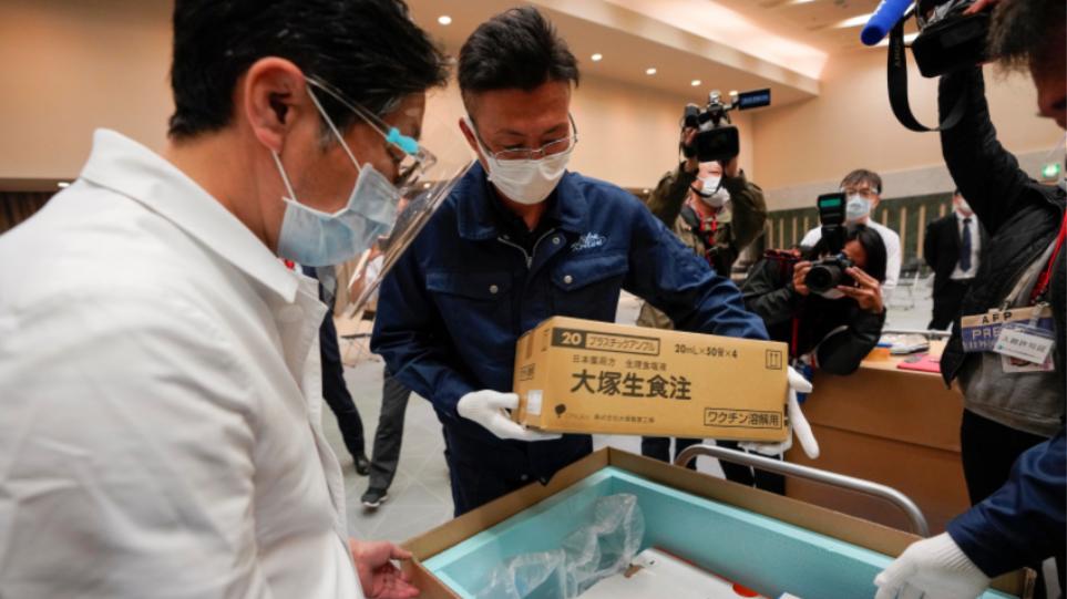 Ιαπωνία: Άρχισε η εκστρατεία εμβολιασμού για τον κορωνοϊό-Δείτε βίντεο