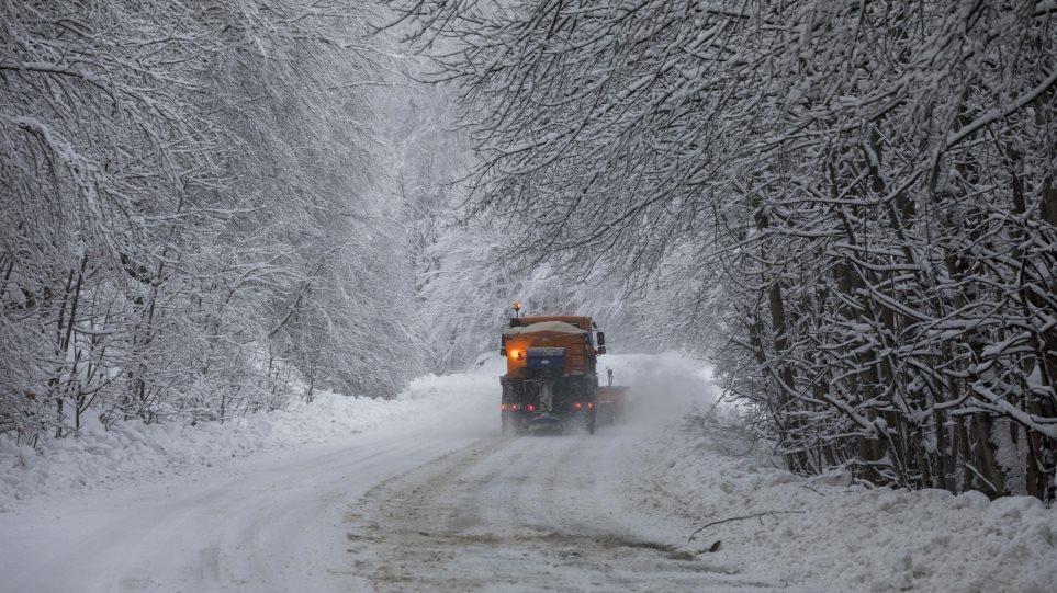 Κακοκαιρία: Η τελευταία χιονόστρωση είχε μια από τις μεγαλύτερες διάρκειες των τελευταίων 20 ετών