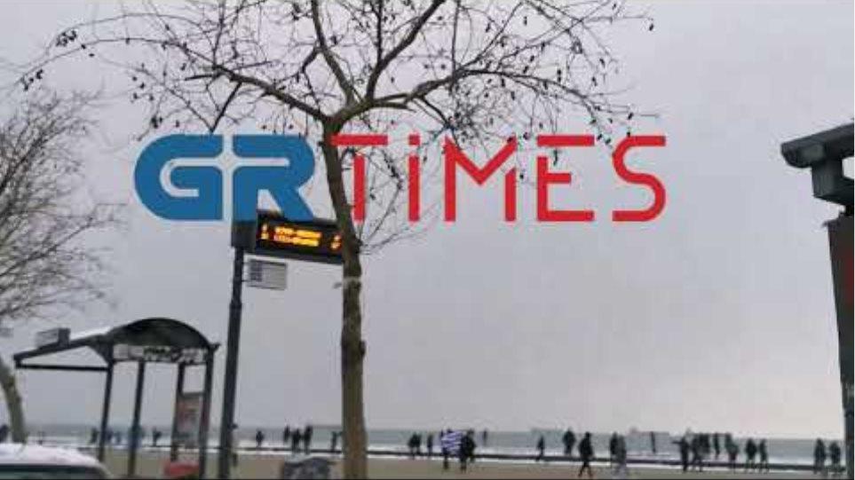 Θεσσαλονίκη: Δέκα προσαγωγές στη συγκέντρωση κατά του lockdown (βίντεο)