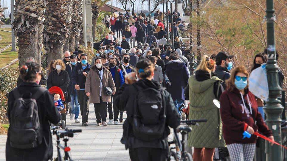 Κορωνοϊός: Πάνω από 4.000 κρούσματα το πρώτο 4ήμερο του Φεβρουαρίου – Ανησυχία για την αύξηση των διασωληνωμένων
