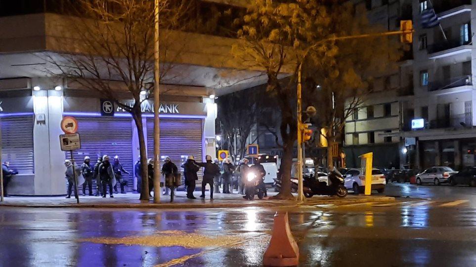 Θεσσαλονίκη: Επτά προσαγωγές και μία σύλληψη μετά τα επεισόδια