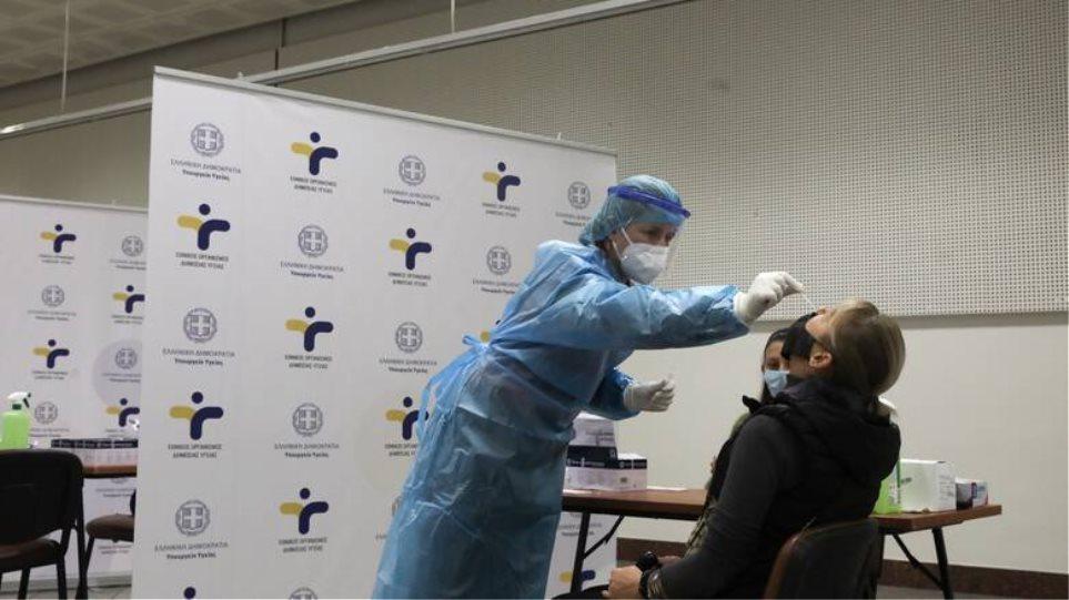 Κορωνοϊός: Τι έδειξαν 5.509 rapid test του ΕΟΔΥ