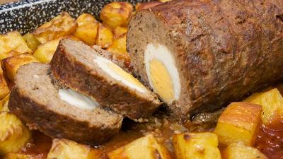 Ρολό με πατάτες στον φούρνο !!!