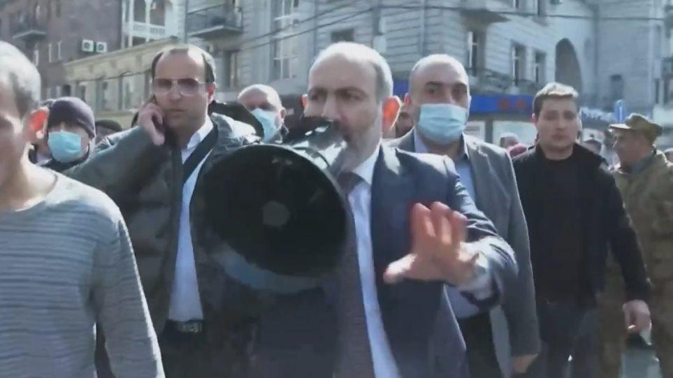 Πασινιάν: Η κατάσταση στην Αρμενία είναι «τεταμένη αλλά διαχειρίσιμη»
