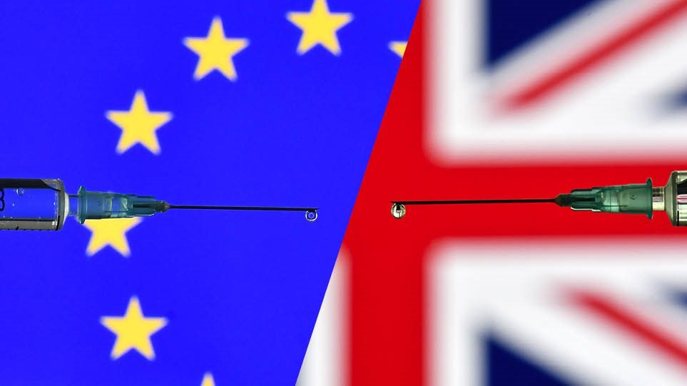 Κορωνοϊός: Λονδίνο και Βρυξέλλες κοντά σε συμφωνία για τις προμήθειες εμβολίων