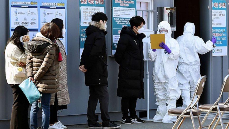 Κορωνοϊός: Υψηλό τριών εβδομάδων με 490 κρούσματα τις προηγούμενες 24 ώρες στη Νότια Κορέα