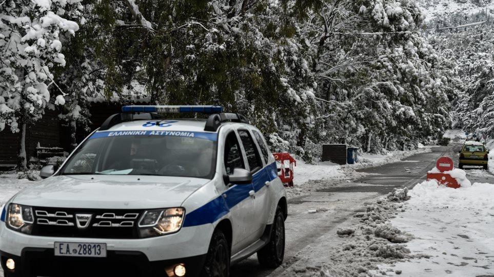 Κακοκαιρία στη Δυτική Μακεδονία: Σε ποιους δρόμους είναι απαραίτητες οι αλυσίδες