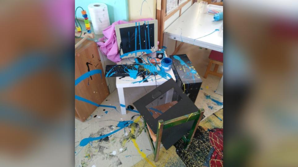 Σέρρες: Βάνδαλοι 9 και 12 ετών λήστεψαν και κατέστρεψαν νηπιαγωγείο!