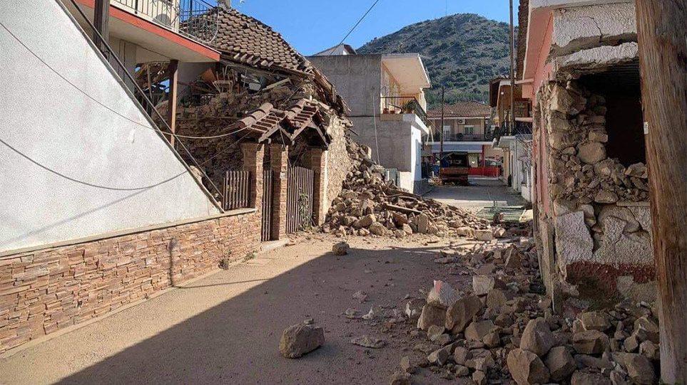 Σεισμός στην Ελασσόνα – Καταστροφές στα σχολεία: Έπεσαν οροφές και σοβάδες