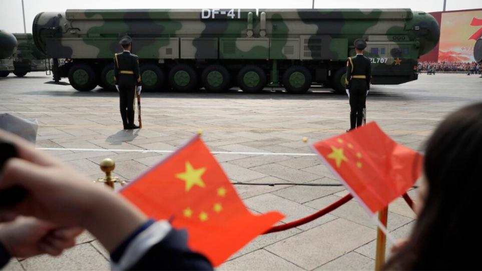 Κίνα: Πάνω από το 6% του ΑΕΠ ο στόχος για το 2021-Αύξηση στρατιωτικού προϋπολογισμού