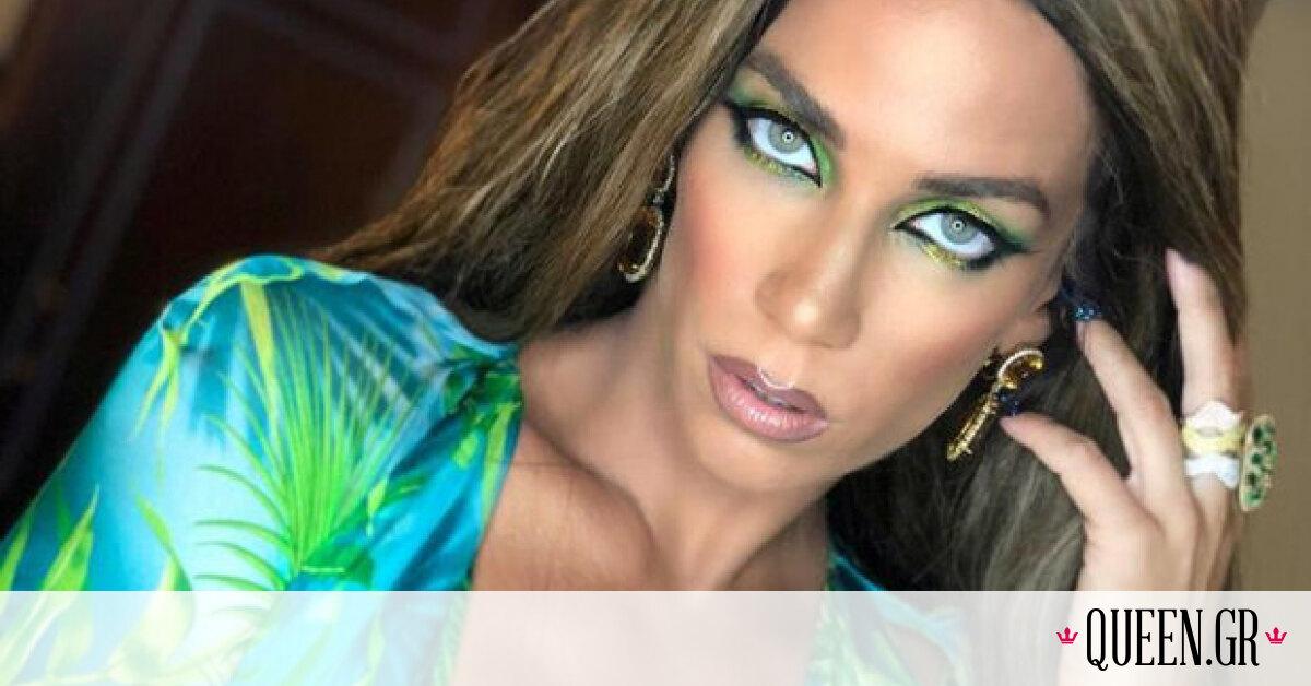 Η Κατερίνα Στικούδη φόρεσε το εικονικό jungle dress της Jennifer Lopez