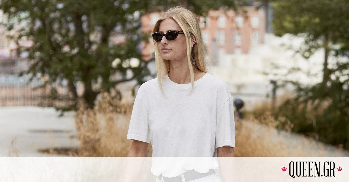 Πώς φοράνε τα πιο cool κορίτσια ένα απλό, λευκό T-Shirt;