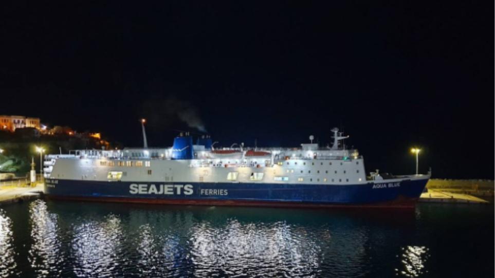 Γενικό blackout στο πλοίο Aqua Blue: Επέστρεψε στο Λαύριο – Δείτε βίντεο
