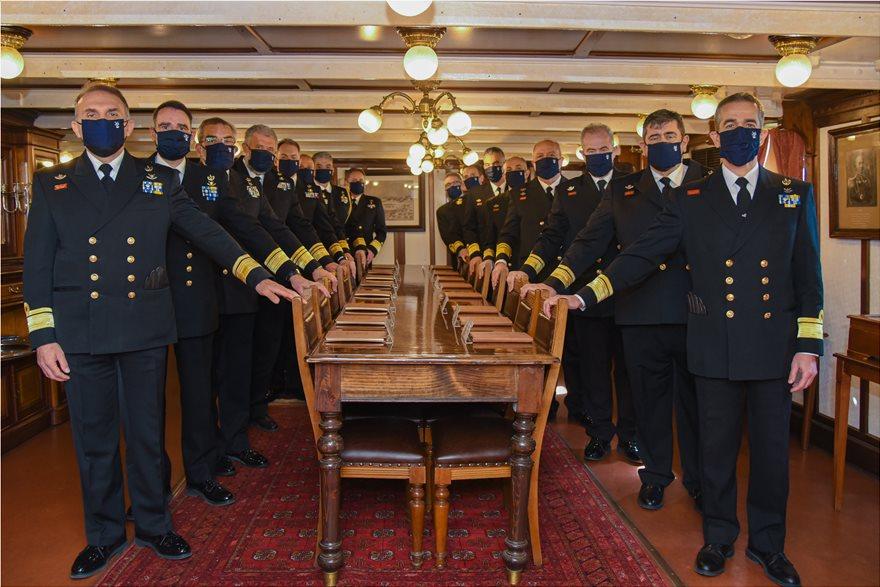 Πολεμικό Ναυτικό: Ποια είναι η σύνθεση του νέου Ανωτάτου Ναυτικού Συμβουλίου