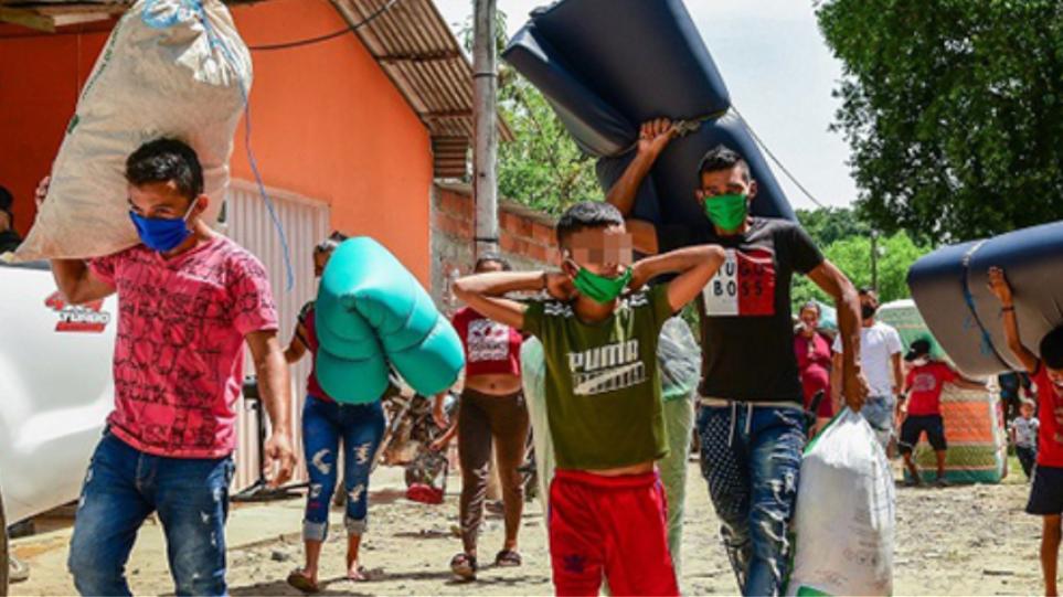 Κολομβία: Πάνω από 11.000 άνθρωποι έχουν εκτοπιστεί φέτος εξαιτίας συγκρούσεων ένοπλων ομάδων